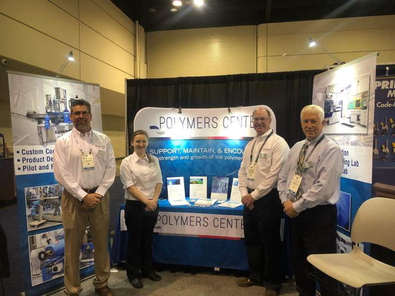 The Polymers Center Attends NPE2018